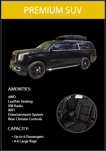 suv limo vail colorado