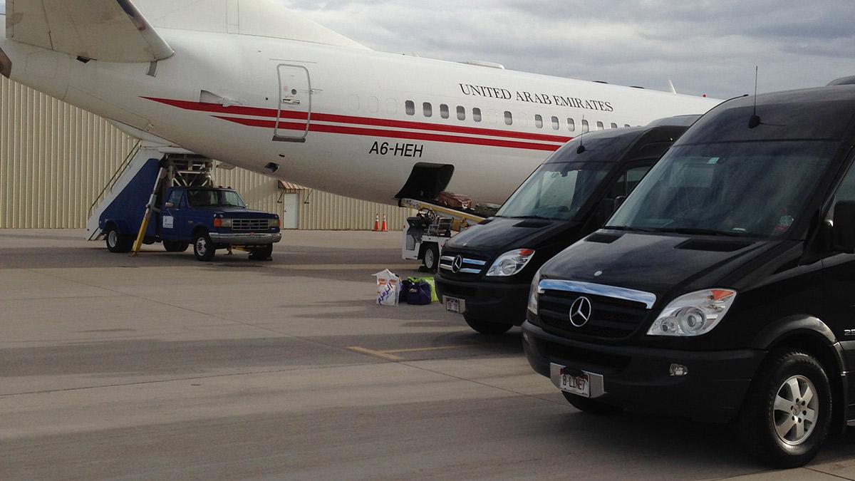 airport transportation vail united arab emirates