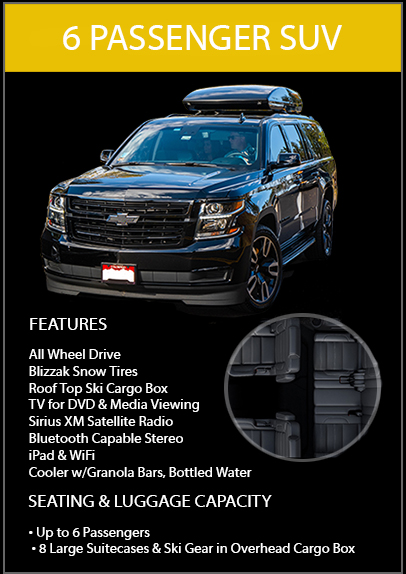 executive van limo vail
