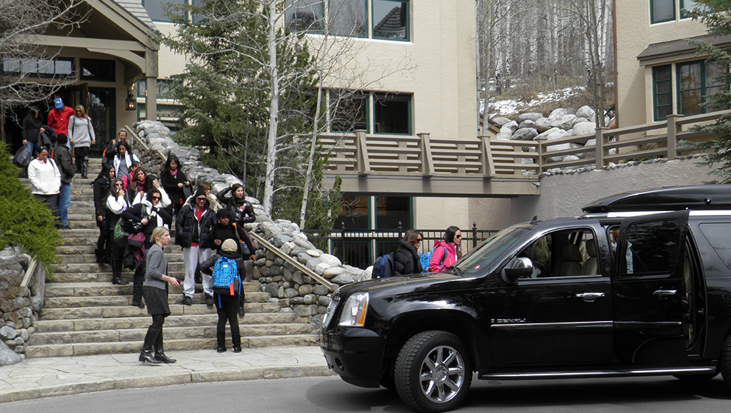 corporate event limo vail