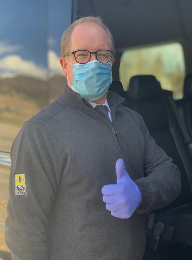 coronavirus safety limo vail