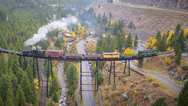 georgetown loop railroad tour