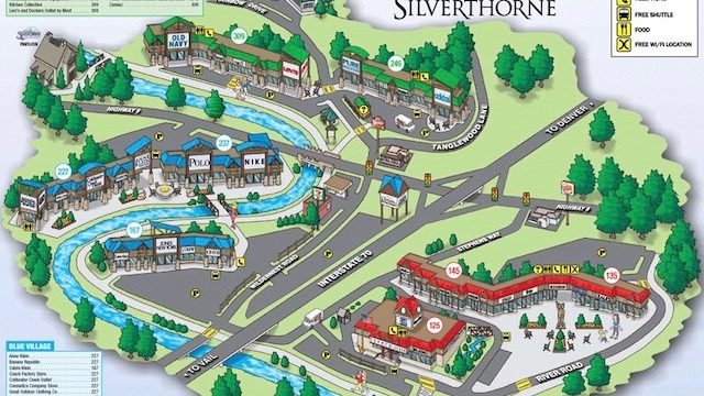 silverthorne outlets tour