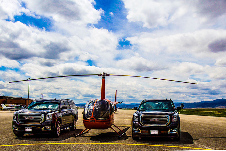 helicopter charter colorado